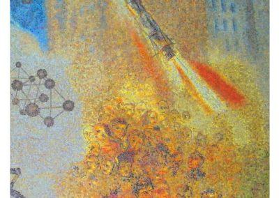 Particolare Mosaico Aula Magna